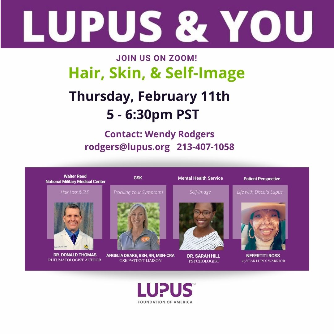 Lupus Foundation of America Seminar with Dr. Donald Thomas