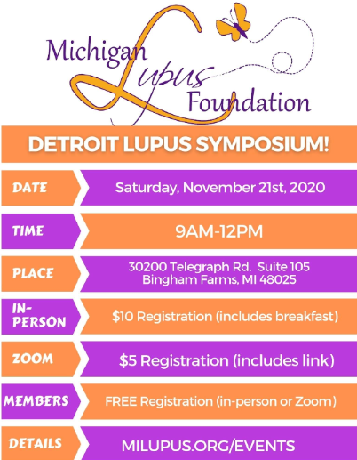 Michigan Lupus Foundation Lupus Seminar on Living with Lupus